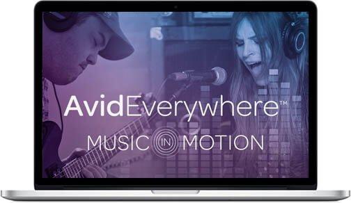 Avid Music In Motion