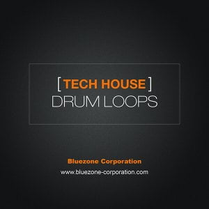 Bluezone Tech House Drum Loops