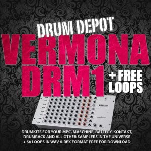 Marco Scherer Drum Depot Vermona DRM1