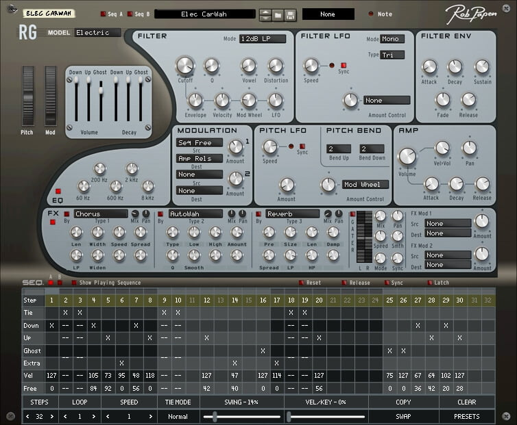 Rob Papen RG Rhythm Guitar Groove Generation Software ...