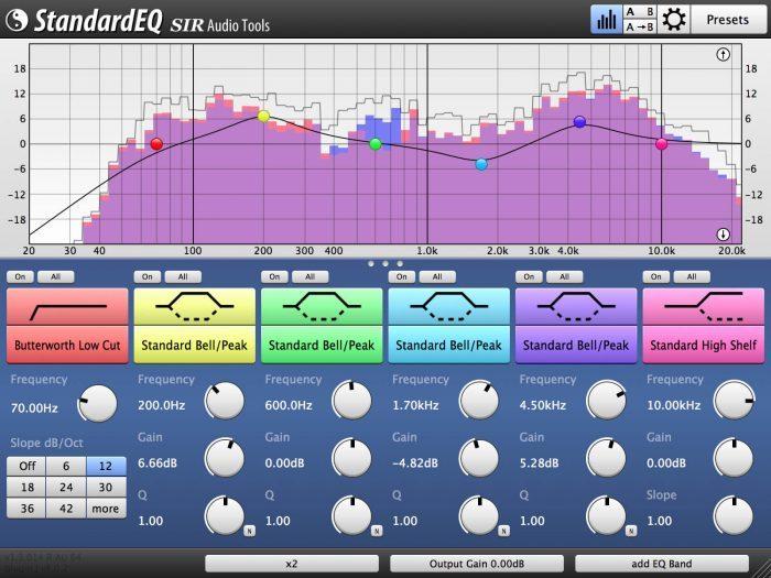 SIR Audio Tools StandardEQ