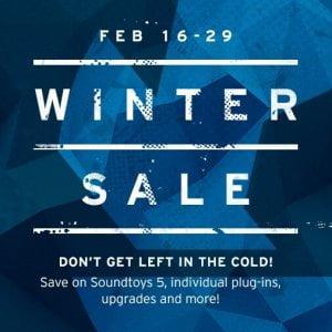 Soundtoys Winter Sale
