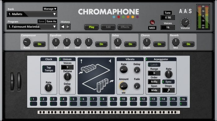 AAS Chromaphone 2 main