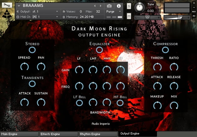 Audio Imperia Dystopian Dreams Vol.2 Dark Moon Rising