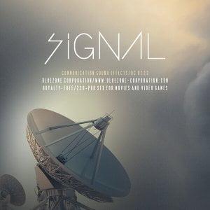 Bluezone Signal Communication Sound Effects