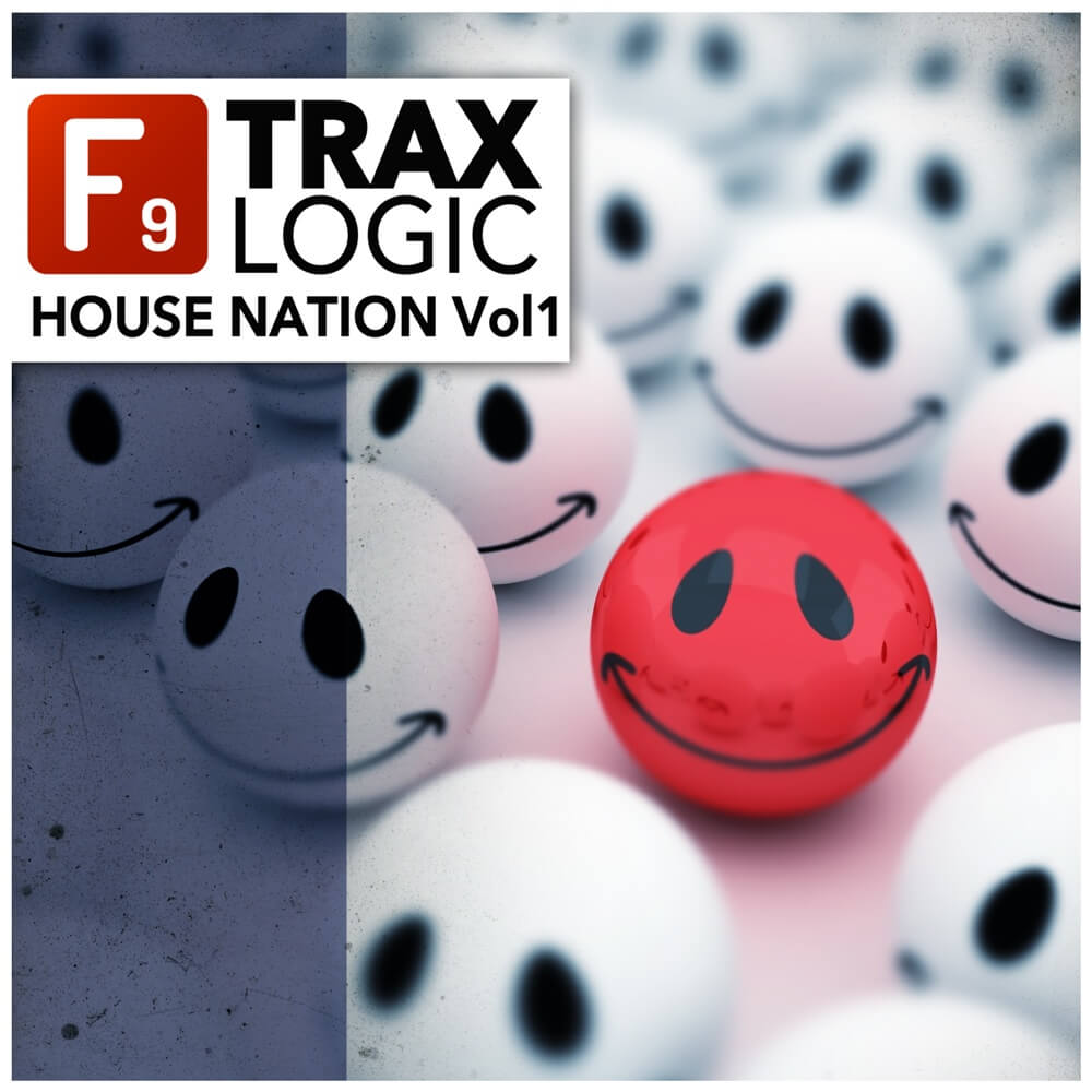 F9 trax house nation vol1 for logic at f9 audio for Classic house volume 1