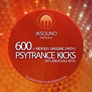 Jksound 600 Psy Trance Kicks