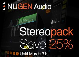 Nugen Audio Stereopack sale
