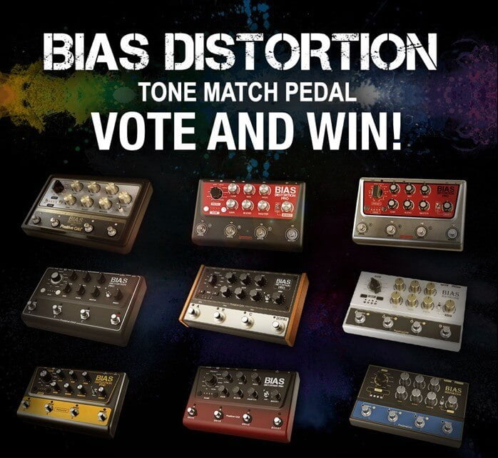 Positive Grid BIAS Distortion Pedal Giveaway