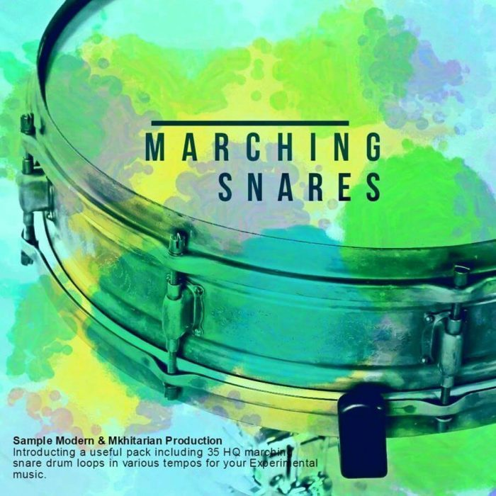 Sample Modern Marching Snares