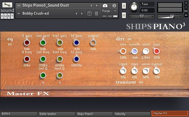Sound Dust Ships Piano3 fx