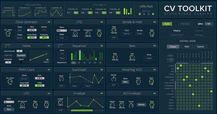 Spektro Audio CV Toolkit 2.2