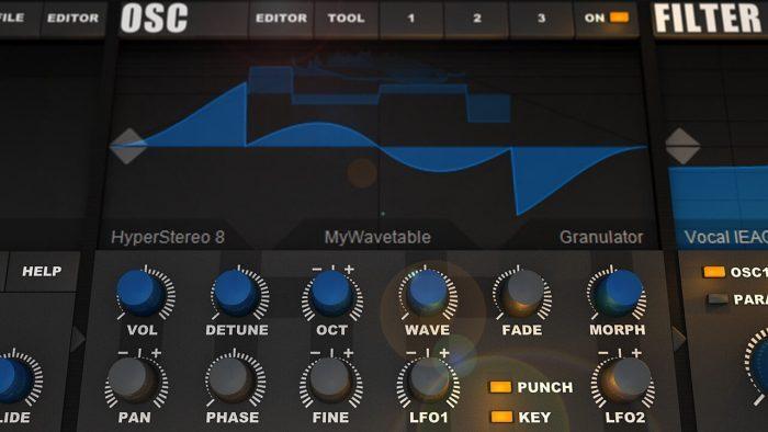 Tone2 Icarus osc