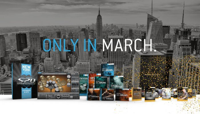Toontrack March Superior deals