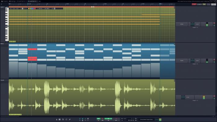 Tracktion T7 Main Screenshot