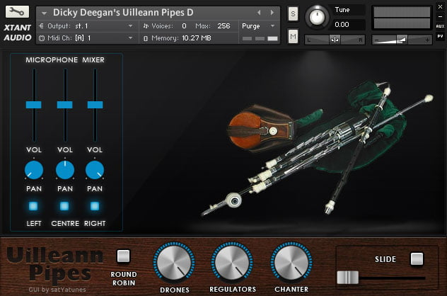 Xtant Audio Dicky Deegan's Uillean Pipes