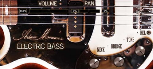 Adam Monroe's Electric Bass