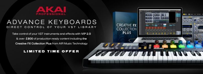 Akai Pro Advance Keyboards VIP 2 promo
