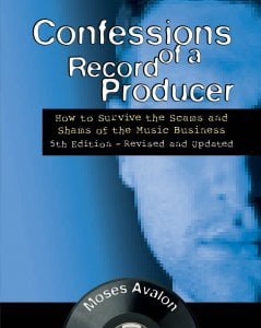 Hall Leonard Confessions of a Record Producer - 5th Edition
