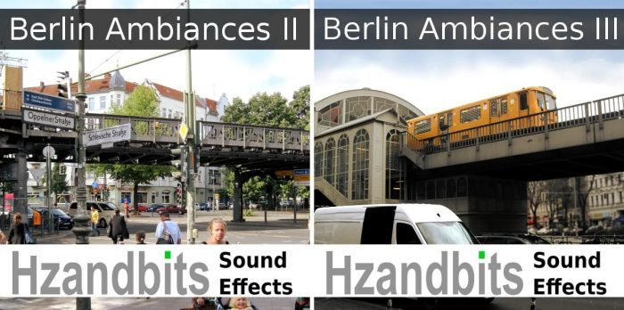 Hzandbits Berlin Ambiances 2 & 3