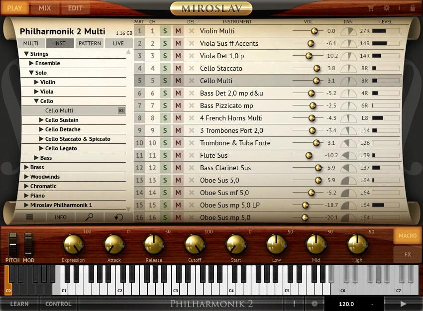 Miroslav Philharmonik 2 Ce Classik Edition By Ik Multimedia