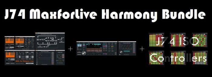 J74 MaxforLive Harmony Bundle