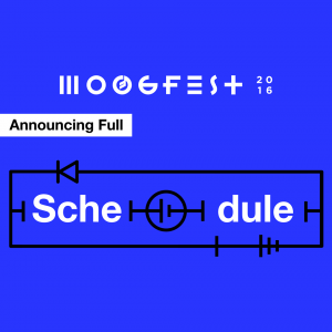 Moogfest Schedule Announcement