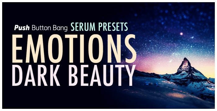 Push Button Bang Emotions Dark Beauty Serum Presets