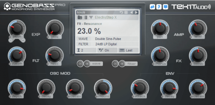 Tekit Audio Genobazz Pro