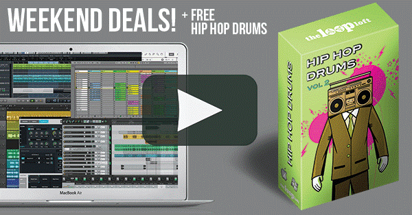 The Loop Loft Weekend Deals Hip Hop Drums Vol 2