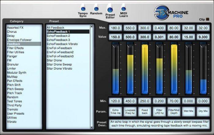 The Sound Guy SFX Machine Pro