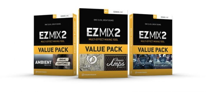 Toontrack EZmix2 Value Packs