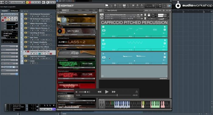 audio-workshop Orchestral Library Toolbox 02