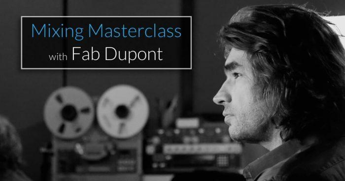 pureMix Mixing Masterclass with Fab Dupont