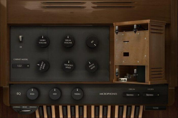 Acousticsamples B-5 Organ rotary speaker