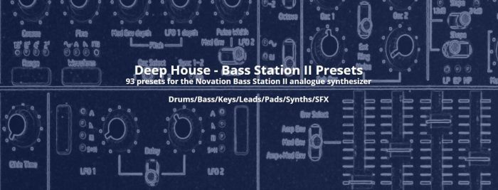 Audio Diggers Deep House for Bass Station II