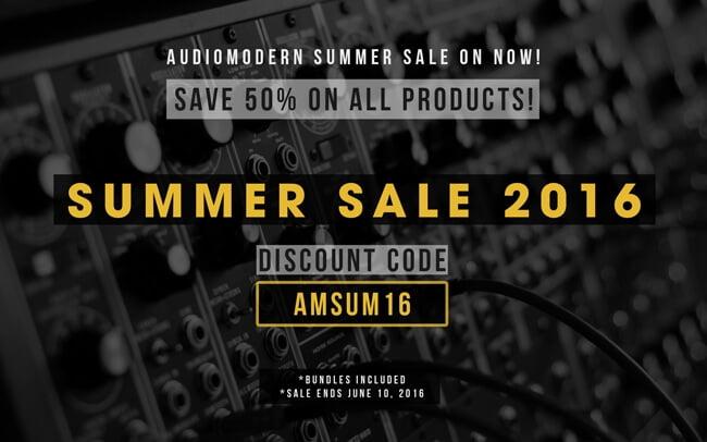 Audiomodern Summer Sale