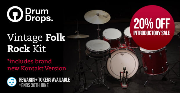 PIB DrumDrops Vintage Folk Rock Kit sale
