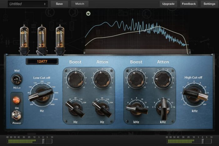 Positive Grid Pro Series EQ Tube
