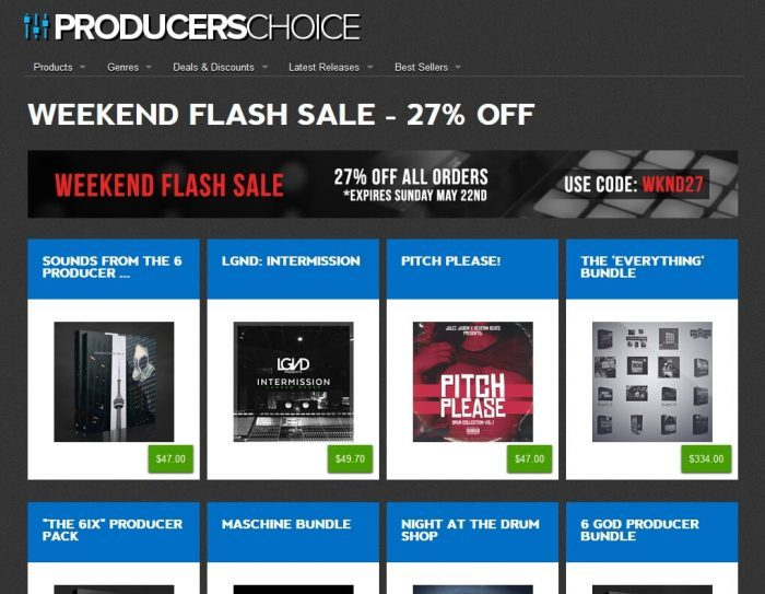 Producers Choice Flash Sale