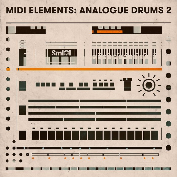 Sample Magic MIDI Elements Analogue Drums 2