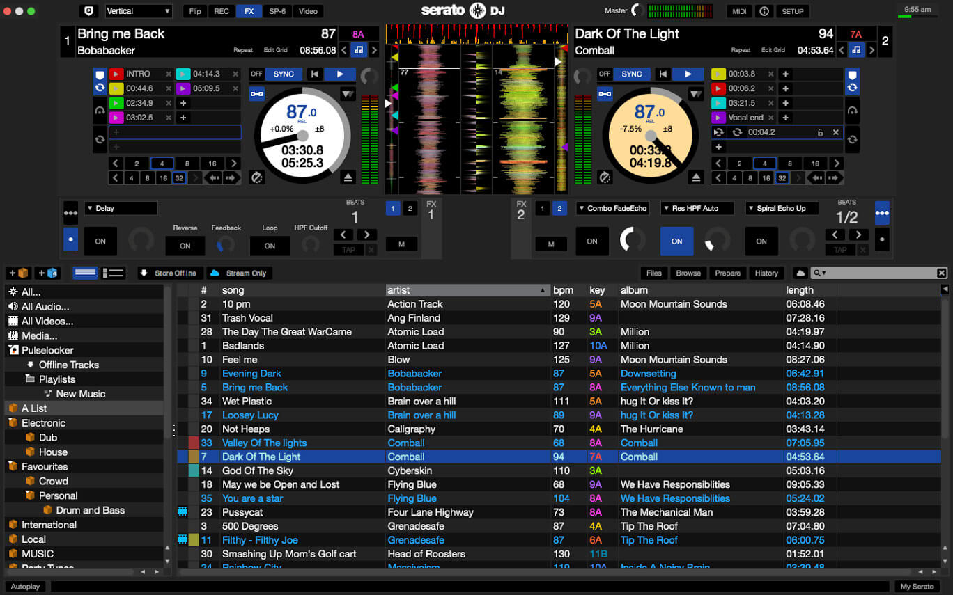 Serato DJ mixing software updated to v1.9.1
