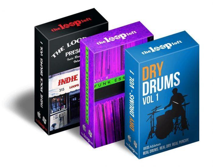 The Loop Loft Ableton Ultimate Drums Bundle