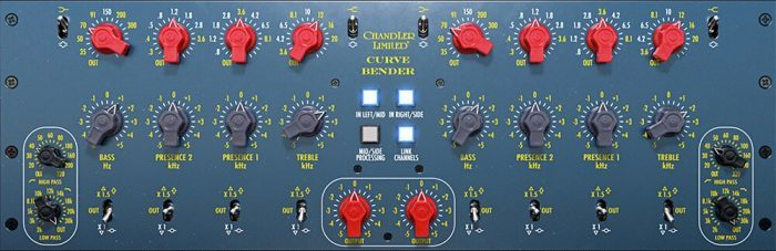 Universal Audio Chandler Limited Curve Bender Mastering EQ