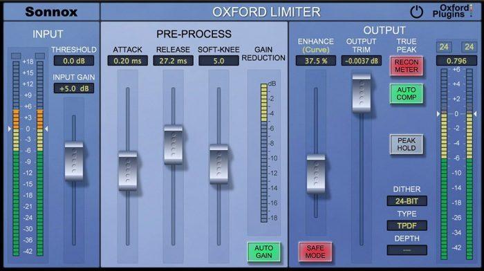 Universal Audio Sonnox Oxford Limiter v2