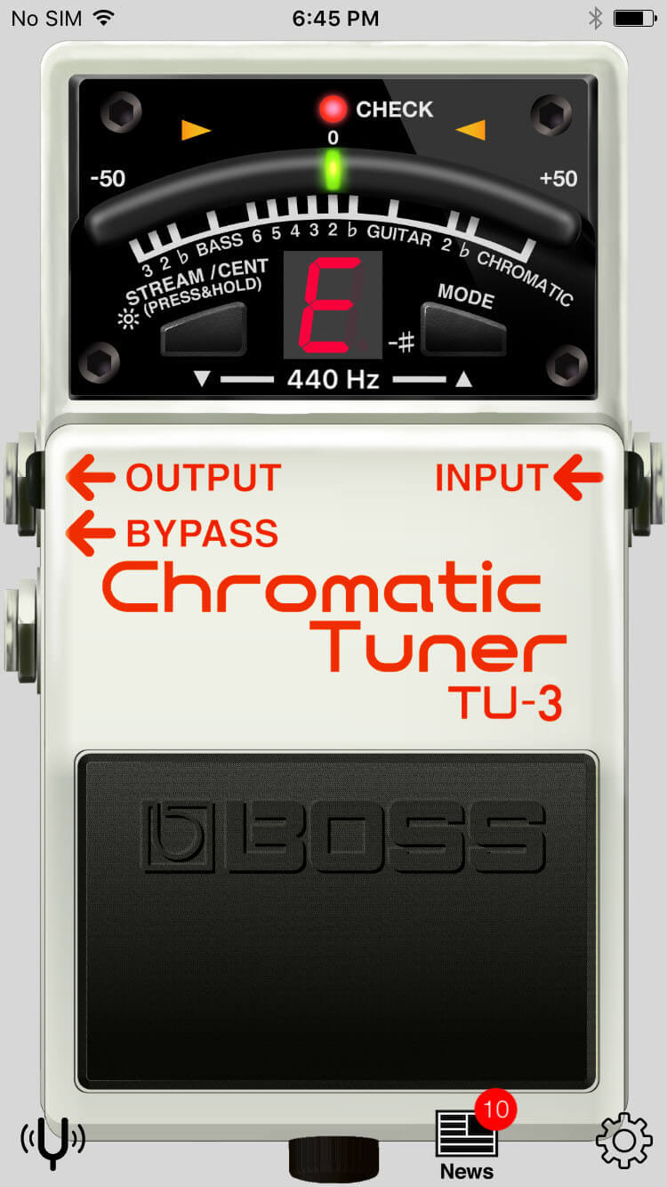 BOSS Tuner App