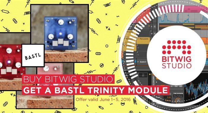 Bitwig Bastl Trinity promo