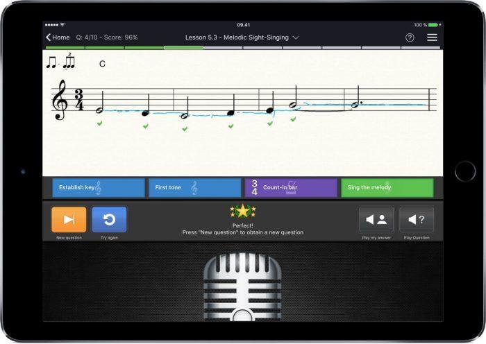 EarMaster app