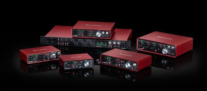 Focusrite Scarlett 2nd gen