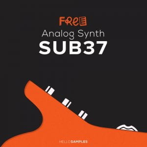 Hello Samples Sub37 Analog Synth